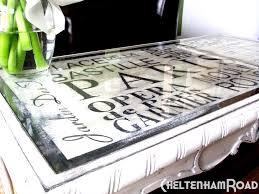 paris metro coffee table makeover cheltenhamroad