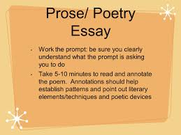 how to approach ap lit essays ppt video online prose poetry essay work the prompt be sure you clearly understand what the prompt