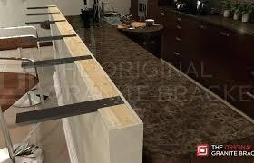 floating countertop bracket kitchen decoration medium size knee wall support the original granite overhang s brackets