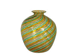 vintage multi colored glass vase by vases bud