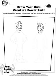 Draw Your Own Creature Power Suits