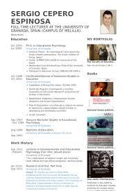 Lecturer Resume Samples Visualcv Resume Samples Database