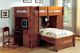 wood bunk bed with desk. Twin Bunk Bed With Desk Underneath Wooden Loft Beds Desks Storage Tower Wood