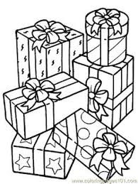 Small Picture Happy Birthday Gifts Decorated with Stars Coloring Pages