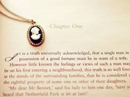 ciao domenica happy th anniversary pride and prejudice the first line of the book is one of the most famous first lines in literature pride and prejudice