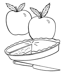 Small Picture Apple pie clipart black and white collection