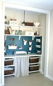 office in a closet ideas. Closet Office Ideas Home Best Turned On In A .