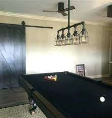 rustic pool table lights amazing light bar industrial above chandelier lighting interior design 24