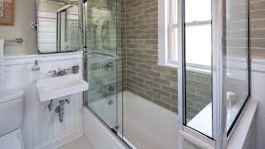 replacing shower door tile shower installing sliding shower door frame