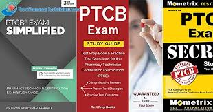 Best Ptcb Pharmacy Technician Certification Board Exam