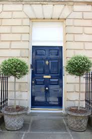 100+ [ Blue Front Doors ] | A Blue Front Door On A White Greek ...