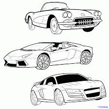 When drawing a sports car it\'s important to understand that there