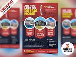 Real Estate Brochure Template Free Real Estate Flyer Templates Psd Psdfreebies Com