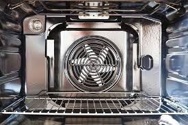 inside convection oven
