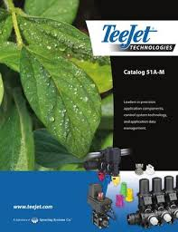 Teejet Metric Nozzle Chart Teejet 51a M Catalog By Domdistribution Issuu