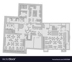 Pub Design Plan Standard Cafe Furniture Symbols On Floor Plans