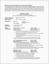 Public Relations Resume Example Federal Resume Templates