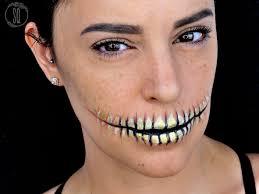 easy skeleton mouth makeup tutorial easy skeleton mouth makeup tutorial