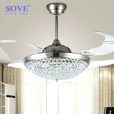 chandelier ceiling fans fan crystal and get