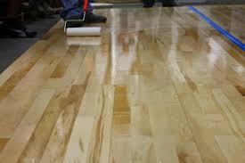 applying water based hardwood floor finish