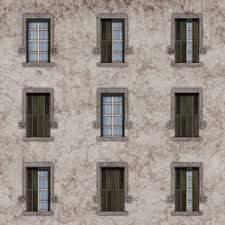 Contemporary City Window Texture Old Building 2 Abstract Ancient Throughout Decor