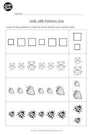 Ab Pattern Worksheet