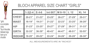 Bloch Ballet Size Chart 12 You Will Love Bloch Sizes