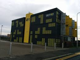 container office building. Shipping Container Office Building. Building A