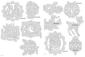 Christmas Ornament Patterns Fascinating Downloadable Christmas Ornament Pattern Pack