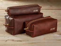 arizona leather toiletry bag travel shaving wash dopp kit with best men s bathroom travel bag