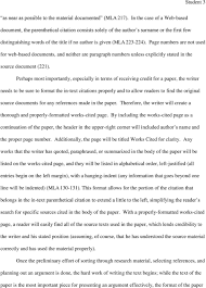 Formidable Mla Research Paper Parenthetical Citations Museumlegs