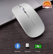 Chuột Bluetooth cao cấp Jane Eyre Sạc pin cho Macbook điện thoại Laptop PC  A185, Kho thiết bị điện tử (Chuyên hàng cao cấp)