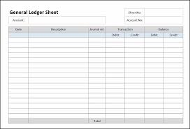 Accounting Ledger Templates General Ledger Sheet Template General Ledger Small