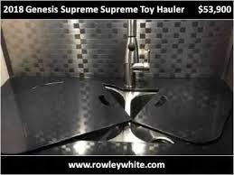 2018 genesis toy hauler.  hauler 2018 genesis supreme toy hauler new cars mesa az inside genesis toy hauler a