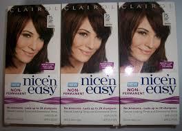 Nice N Easy Light Ash Brown Non Permanent Amazon Com Clairol Nice N Easy Non Permanent Hair Color