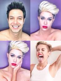 filipino artist can transform to diffe celebrities only with guy makeup like