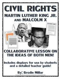 Differences Between Mlk And Malcolm X Venn Diagram Civil Rights Martin Luther King And Malcolm X Ideas