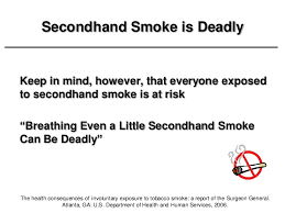 secondhand smoke the silent killer shs and cardiovascular disease cdc 40 each year exposure to secondhand smoke kills
