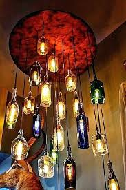 whiskey bottle lights whisky