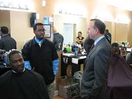 governor visits small businesses