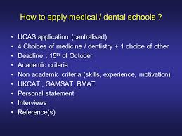Universities That Accept Dentistry UCAS
