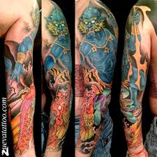 тату япония рукав тату в японском стиле тату рукав