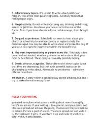 nacac essay writing tips powerpoint 12