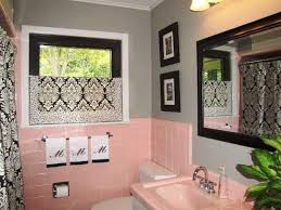blue and pink bathroom designs. Probably The Worst Thing To Happen A Bathroom.Pink Tile Except For Green Or Blue ( Gag ) Amazing How Black And Grey Make It Tolerable. Pink Bathroom Designs B