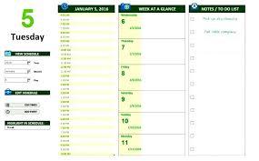 Work Log Excel Template Daily Work Planner Worksheet Log Template