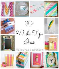 30+ Washi Tape Ideas {round-up}