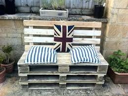 diy patio couch pallet patio furniture pallet patio furniture for wooden bench and square cushions near