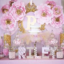 Baby Shower Centerpieces For Boys  Baby ShowerPrincess Theme Baby Shower Centerpieces