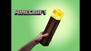 Minecraft Light Up Torch Uk Minecraft Light Up Torch Thinkgeek Unboxing Demo Review Keiths Toy Box