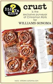 crust bakery williams sonoma cinnamon rolls